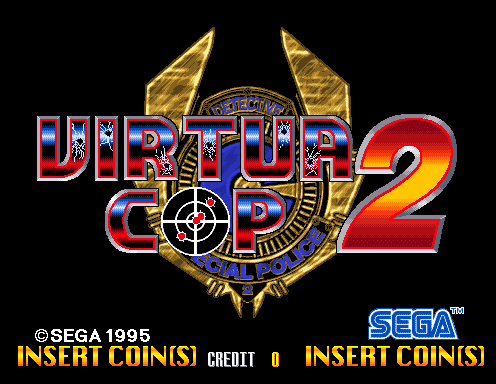 Virtua Cop 2 1