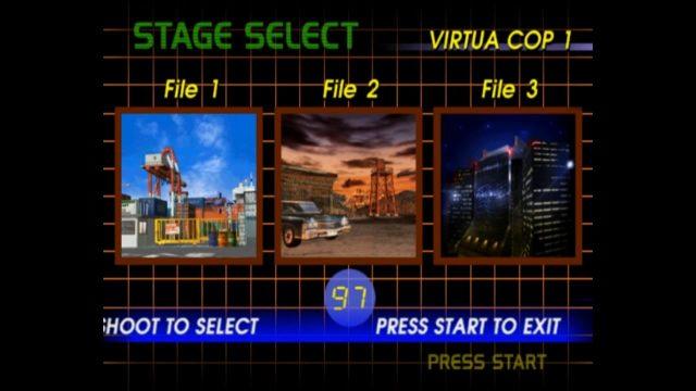 Virtua Cop Elite Edition PS2 with PCSX2 and Aimtrak Light Gun 4