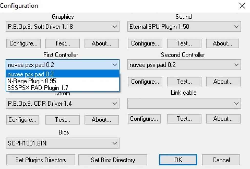 pcsxr controller plugin
