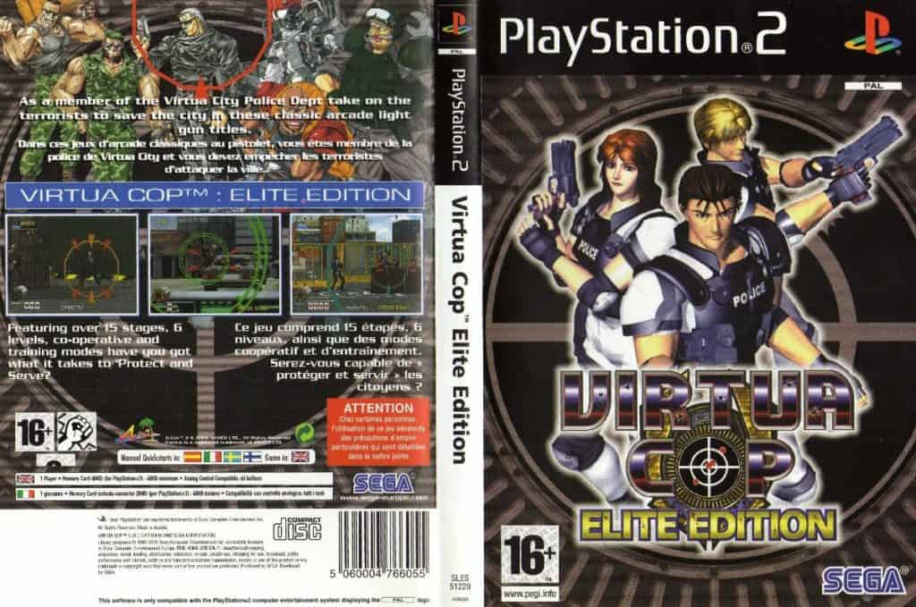 Virtua Cop Elite Edition PS2 with PCSX2 and Aimtrak Light Gun 6