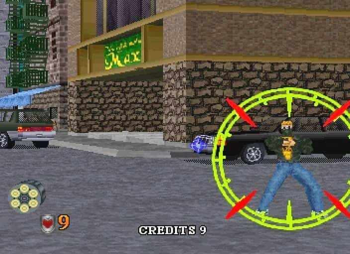 Virtua Cop Elite Edition PS2 with PCSX2 and Aimtrak Light Gun 5