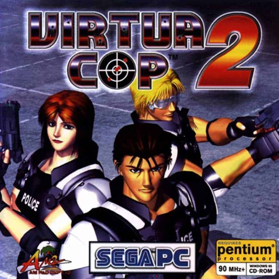 Virtua Cop 2 3
