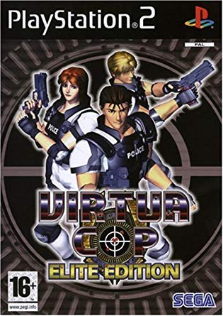Virtua Cop Elite edition PS2