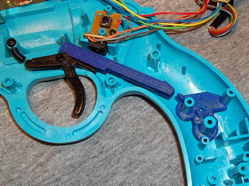Trigger switch Mods for Lightguns 36