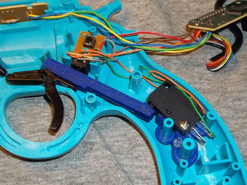 Trigger switch Mods for Lightguns 39