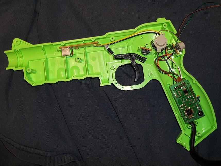 Trigger switch Mods for Lightguns 28