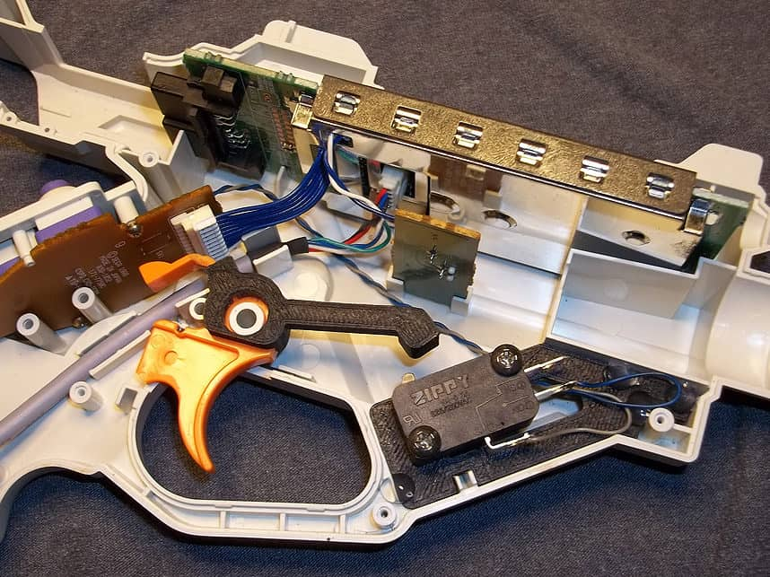 Trigger switch Mods for Lightguns 68