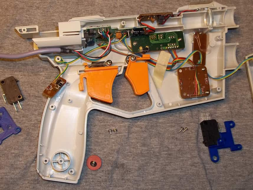 Trigger switch Mods for Lightguns 55