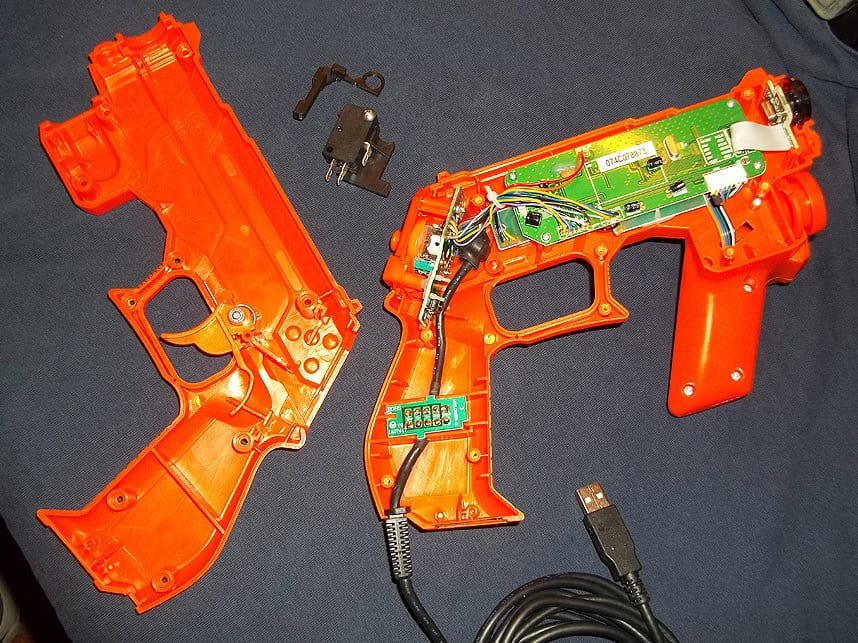 Trigger switch Mods for Lightguns 21