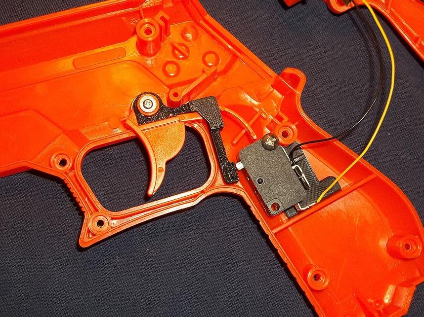 Trigger switch Mods for Lightguns 22
