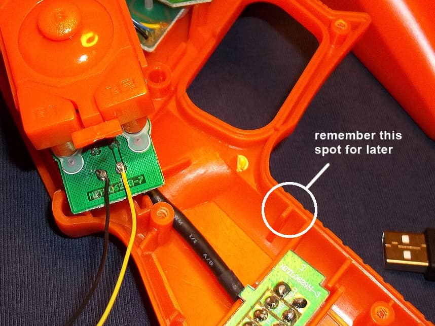 Trigger switch Mods for Lightguns 24