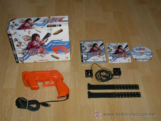 Tiem crisis 4 completo + pistola g-con 3 namco - Sold through