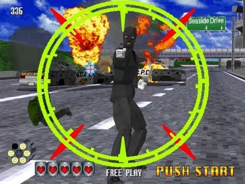 Virtua Cop 2 - Sega Model 2 Arcade