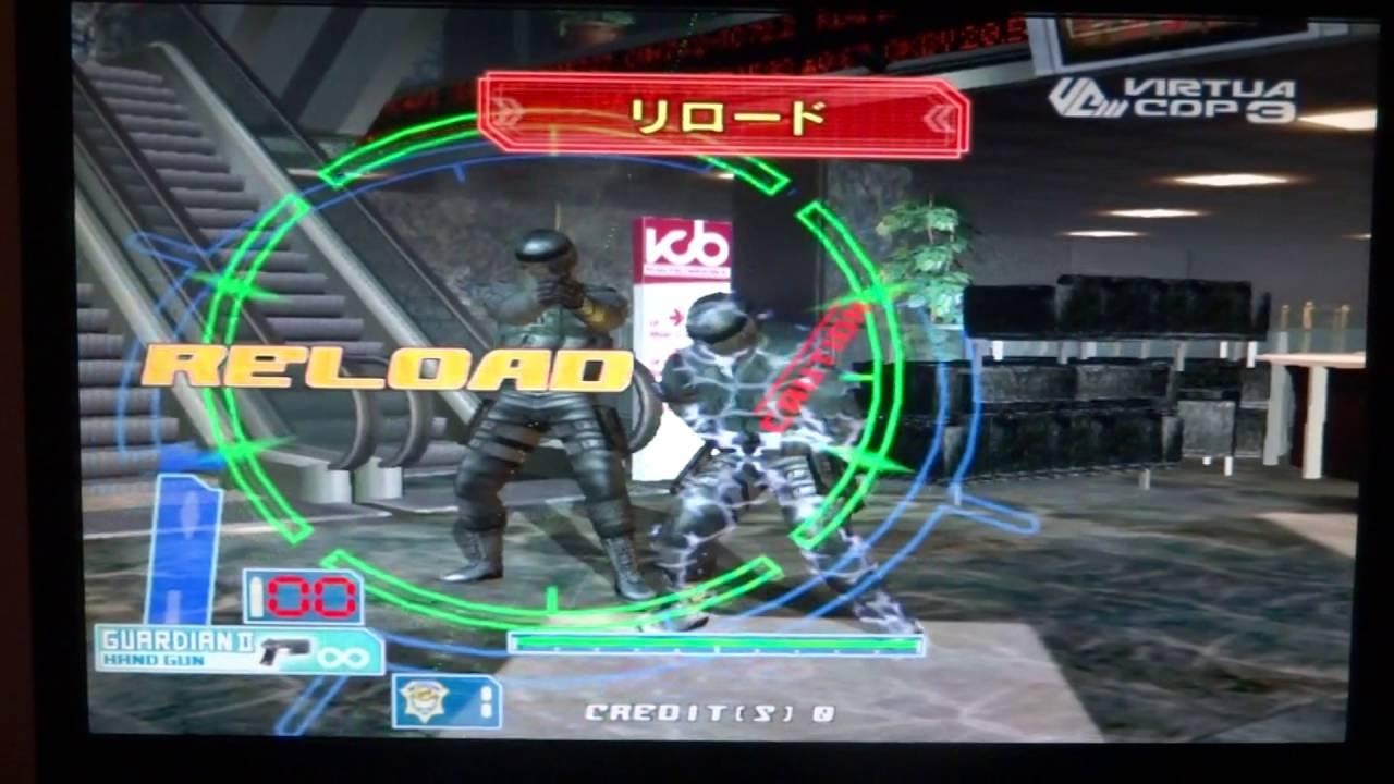 Virtua Cop 3: Arcade Attract Mode Only - YouTube
