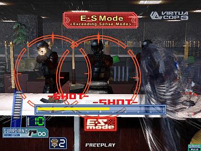 Virtua Cop 3 arcade video game by SEGA Enterprises (2003)