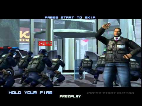Virtua Cop 3 from Xbox Dev Kit - YouTube