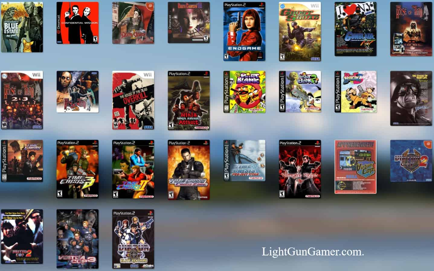 Light Gun Games on the PC
